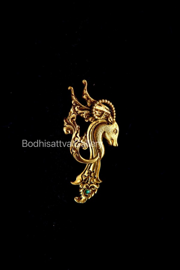 Capricorn brooch